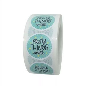 Seller supply pretty things inside thank you stick